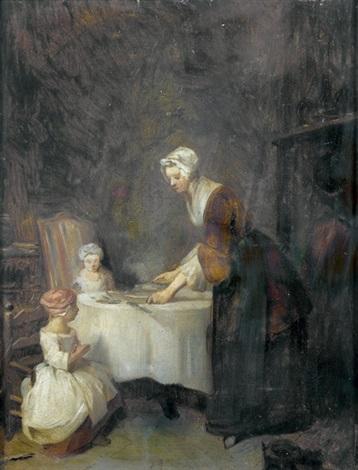 le bénédicité by jean baptiste siméon chardin