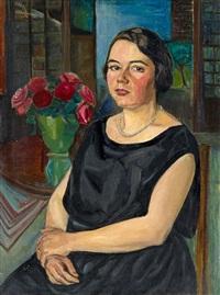 damenporträt by arthur kaufmann