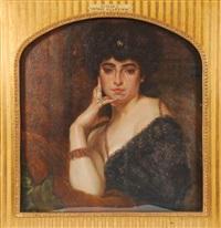 hymne à la femme by auguste (maurice françois giuslain) léveque