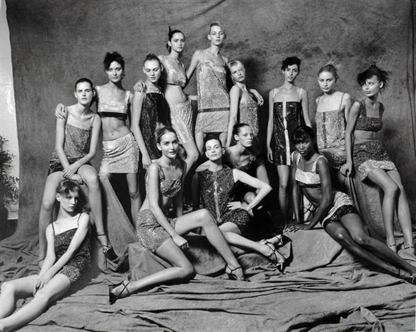 les mannequins versace milan by sante dorazio