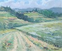 paesaggio in valle ceppi presso baldissero by dino aliberti