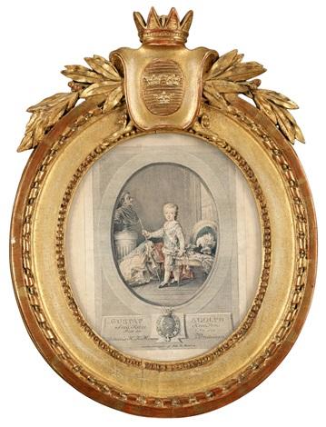 kronprins gustaf adolf 1778 1837 by johan fredrik martin