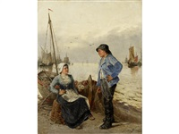 tales of the sea (pair) by a. kaufmann