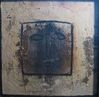 man of peace - abstract face by jamali