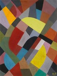 composition abstraite by otto freundlich