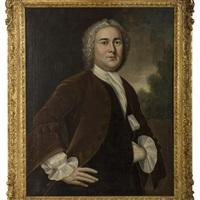 portrait of dr. john greenleaf of boston by joseph badger