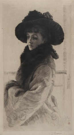 mavourneen or portrait of kathleen newton by james jacques joseph tissot