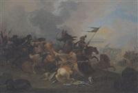 die befreiungsschlacht von wien 1683 by tobias querfurt the younger