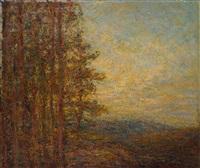 landschaft mit bäumen by joseph futterer
