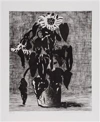 sunflowers ii (t.348) by david hockney