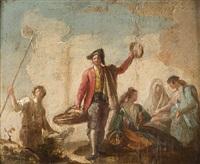 abanicos y roscas by ramon bayeu y subias