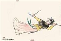 虞姬舞剑 by guan liang