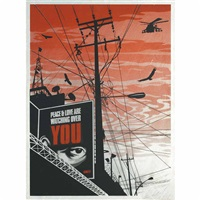 big brother city by shepard fairey