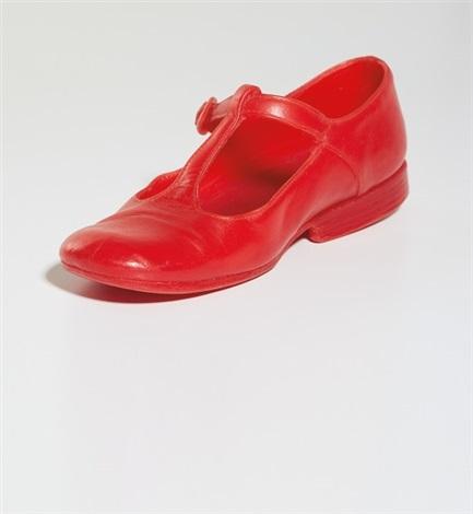da82b237067c Untitled Red Shoe by Robert Gober on artnet