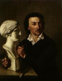 ritratto di scultore by heinrich corrodi