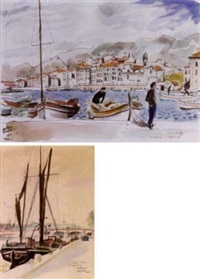le port à toulon by hervé baille