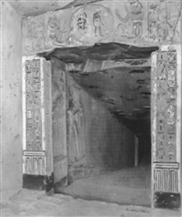 tomb of siptah, valley of the kings by joseph lindon smith