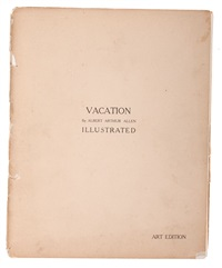 vacation (portfolio of 8) by albert arthur allen