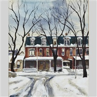 hazelton avenue by albert jacques franck