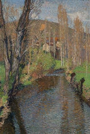 ruisseau by henri etienne martin