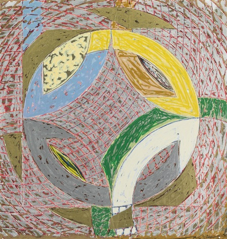polar co ordinates ii by frank stella