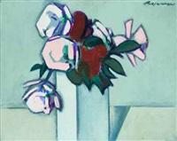 rosen in einer vase by hannes rosenow