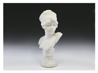 marble figure of chest by morin