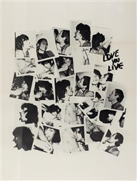 love you live by andy warhol