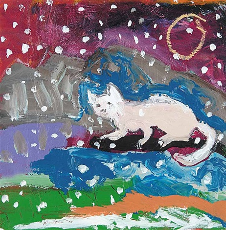 Shaman cat by Jane Ash Poitras on artnet