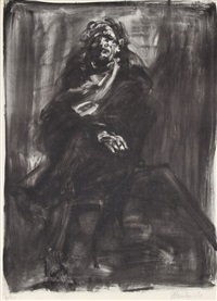seated man by claude weisbuch