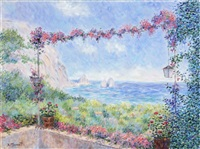 view from the villa by diane monett