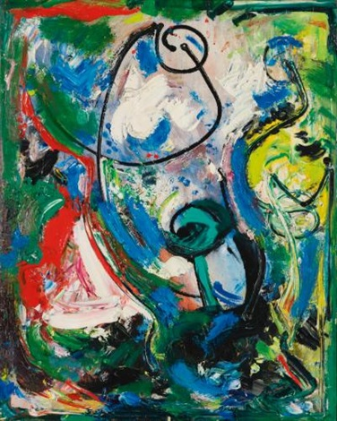 composition no 2 by hans hofmann