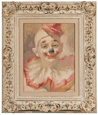 portrait of a clown by julian ritter
