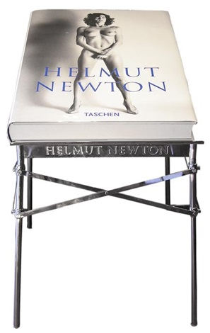 sumo bk w metal stand by helmut newton