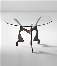 unique center table, for a private commission, milan by maurizio cattelan