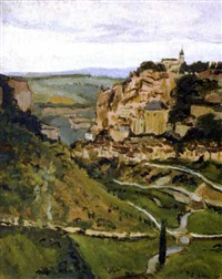 vue sur la vallée by paul-emile colin