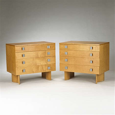 cabinets model s 402 pair by j robert swanson pipsan swanson saarinen and eliel saarinen