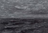 ilta merellä - afton till havs by torger enckell