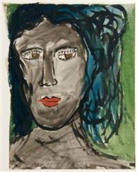 visage féminin by raymond queneau