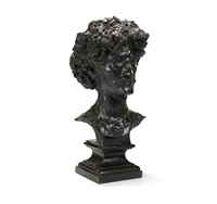 bust of ignace jan paderewski by alfred gilbert