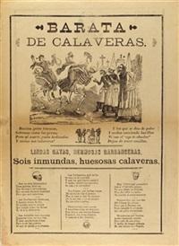 barata de calaveras by josé guadalupe posada