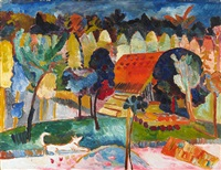 herbstmittag 5 by andre alexeyevich jawlensky