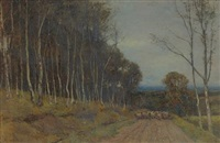a birch wood cullen by archibald david reid