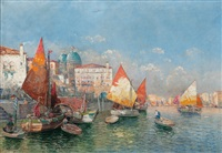 capriccio of venice by georg fischhof