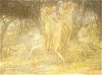 the bathers by charles albert pesnelle