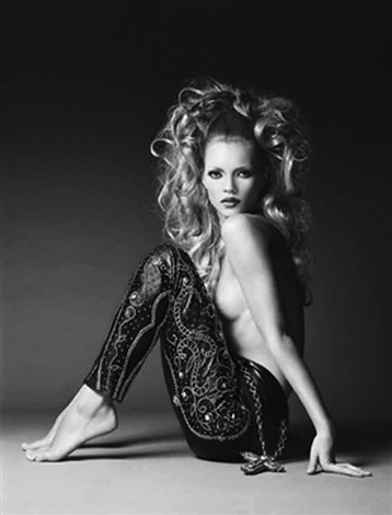 kate moss harpers bazaar by patrick demarchelier