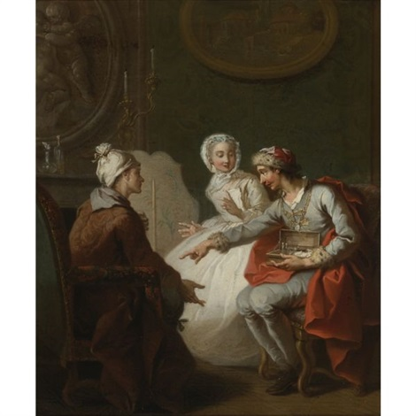 the doctors visit or the charlatan also known as le marchand dorviétan or lopérateur barri by etienne jeaurat