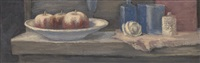 still life with apples by michel roginsky