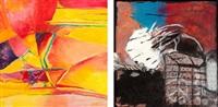 résistance (diptych) by rosa jobin