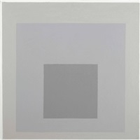 study for homage to the square: outward diffusion by josef albers
